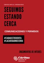 Documentos comunicaciones y permisos